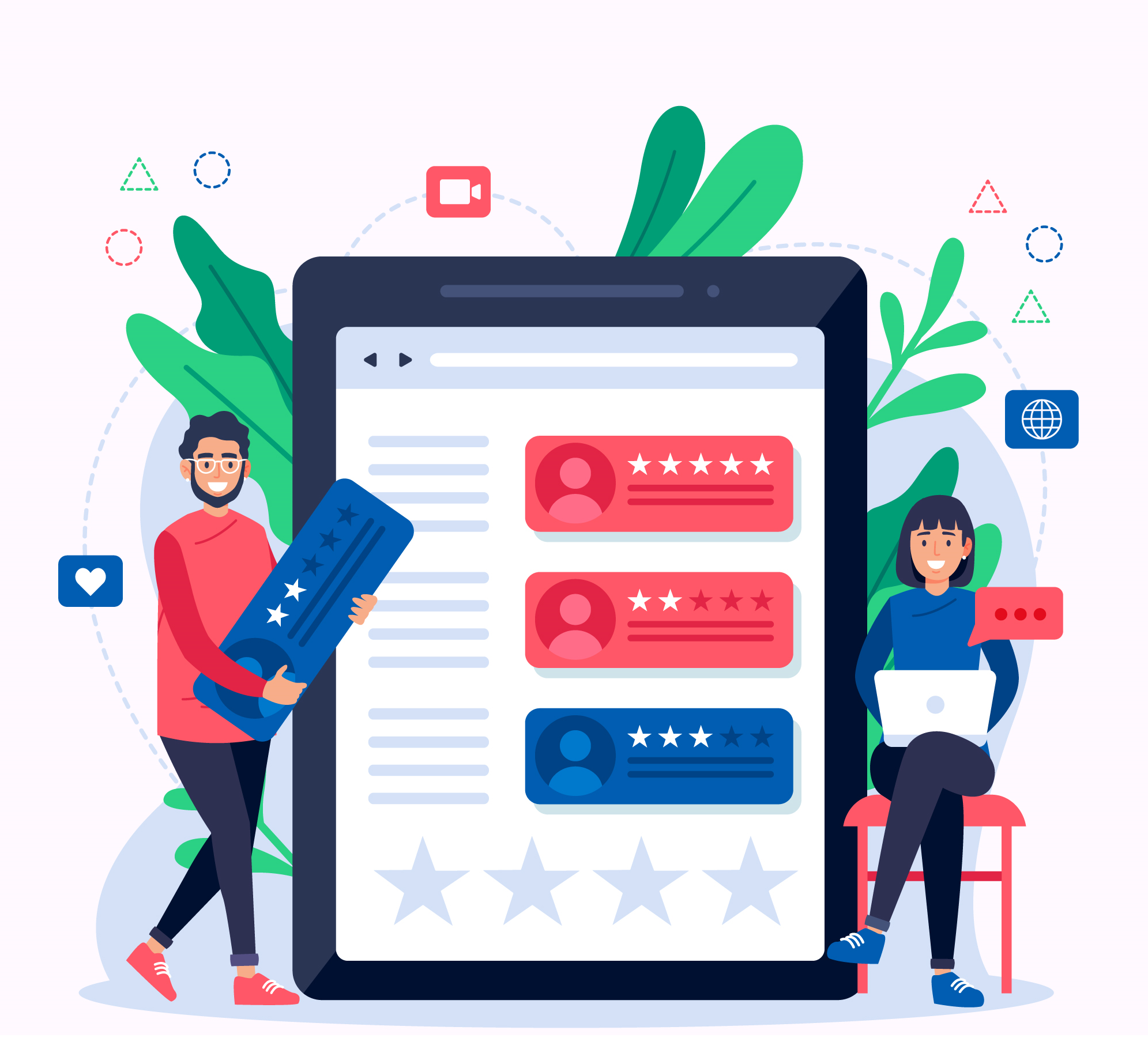 <span>Review Management Services by</span> Online Reputation Guru